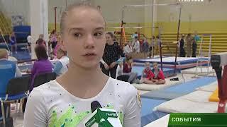 Стартовал Чемпионат области по спортивной гимнастике 19 01 18