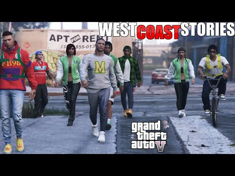GTA 5 WEST COAST STORIES EP 1 FIRST DAY OF SCHOOL (GTA 5 ROLEPLAY MOVIE)