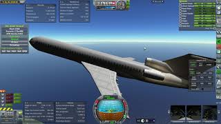 Kerbal Space Program RO Sandbox - Boeing 727-200