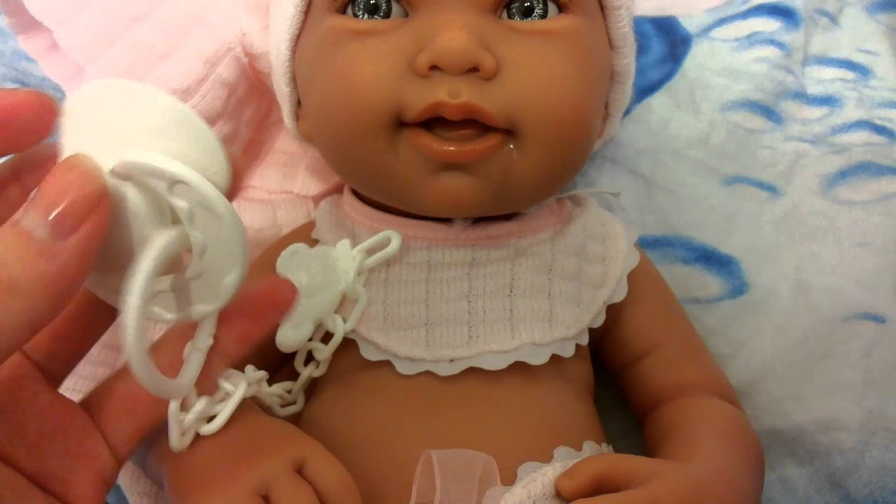 Кукла-младенец Лея, 26 см, Munecas Antonio Juan - YouTube