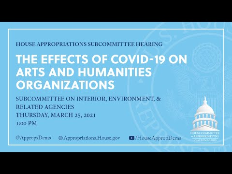 The Effects of COVID-19 on Arts and Humanities Organizations (EventID=111354)