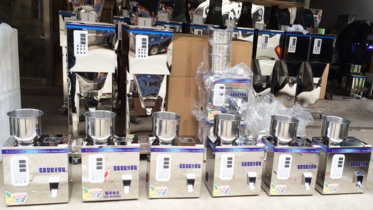 Dosing Packing Machine For Powder Bean Tea Peanut