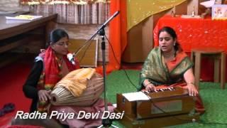 Radha Priya Devi Dasi @ 6 hour kirtan OSAKA JAPAN 13.Dec.2015