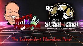 The independent Filmmakers Panel | Slash and Bash Film Festival 2019