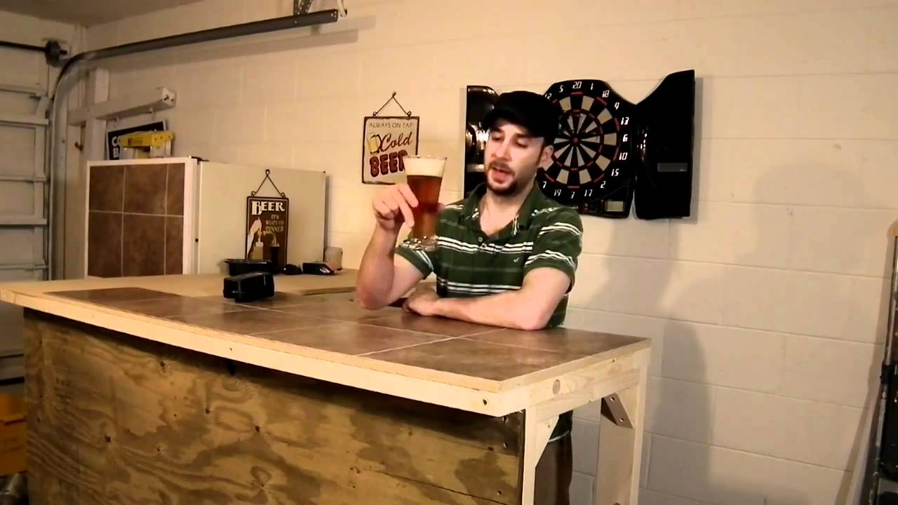 Mixcat Bar for beer reviews; build out. DIY Bar - YouTube