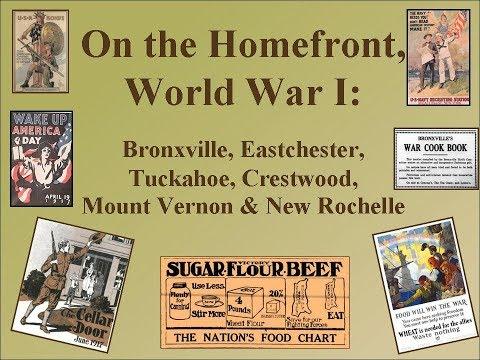On the Homefront,  World War I: