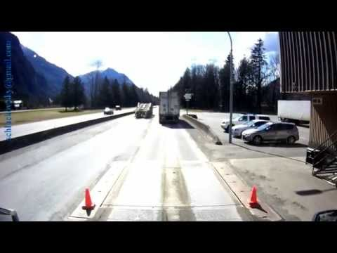 Canadian Weight Watchers in Action//MOT Scale//British Columbia//near hope//BC-1 south