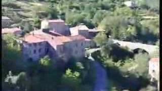 Village de Banne, en Ardeche