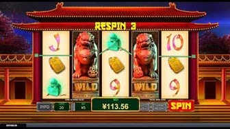 Fortune Lions big win - playtech  bonus slot