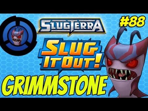 Slugterra Slug it Out ! #88   GRIMMSTONE !! New Ghoul - DARK AS NIGHT part 2 MegaMorph???