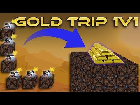 Gold Trip Rushing! (Community 1v1 Battle) - Forts RTS [73]
