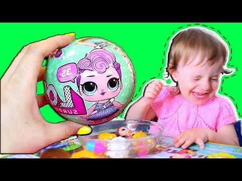 LOL РАСПАКОВКА и ЗОЛОТОЙ ШАР! Куклы ЛОЛ СЮРПРИЗ LOL SURPRISE Dolls Алилунаиз YouTube · Длительность: 8 мин37 с