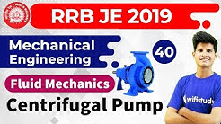 9:00 PM - RRB JE 2019 | Mechanical Engg by Neeraj Sir | Centrifugal Pump