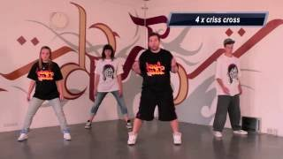 LMFAO - Champagne showers choreography tutorial I Street Dance Academy Episode 5