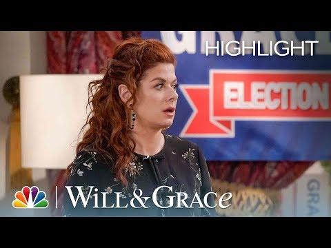 Grace Adler for President - Will & Grace (Episode Highlight)