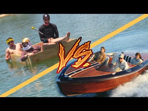 $200 Homemade Boat VS $25,000 Homemade Boat