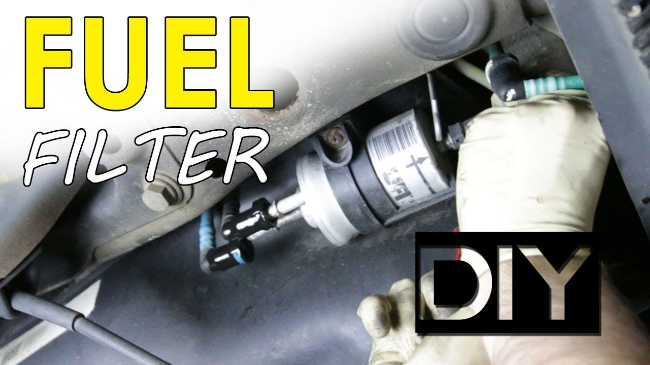 Replace a Fuel Filter on a MK6 GTI - YouTube