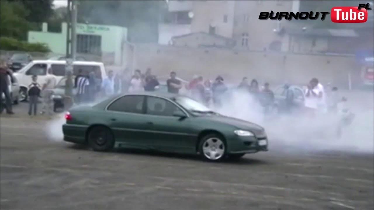 Palenie Gumy Zielony Opel Omega B Fl Krotoszyn Tuning Show 2008