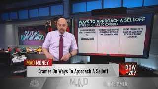 Cramer recommends Amazon, Apple, Devon Energy and American Express stocks