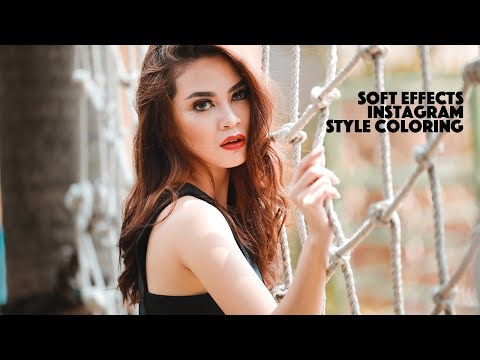 Photoshop CC Tutorial Soft Effect | Instagram Editing Style thumbnail