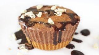 No-bake Chocolate Cheesecake Recipe 노오븐 초코 치즈 케이크 만들기 - 한글자막