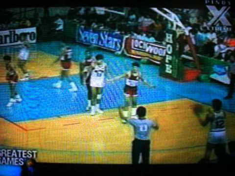 1987 Hills Bros vs RP Team (4th Qrt)