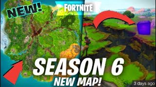 *NEW* Fortnite season 6 map *LEAKED* This change is CRAZY!