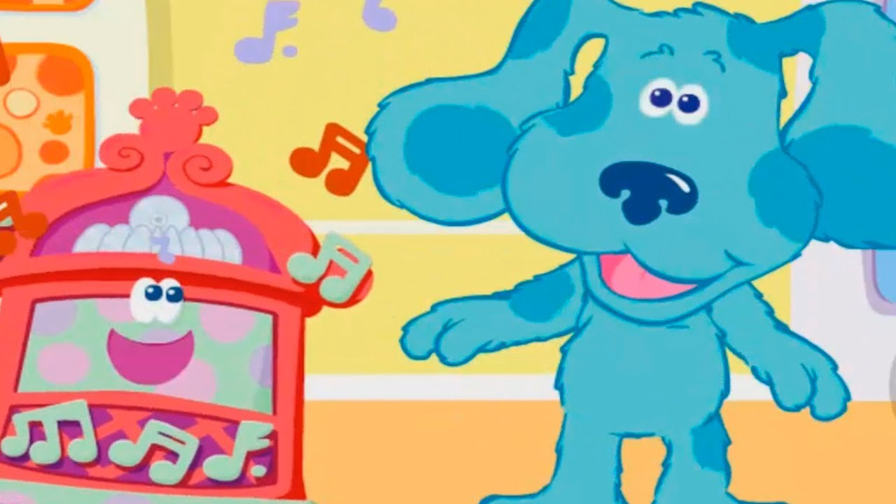 BLUE'S CLUES - Do The Blue - New Blue's Clues Game ...