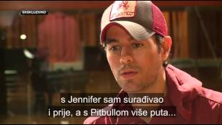 Enrique Iglesias interview with IN magazine NovaTV from Croatia
