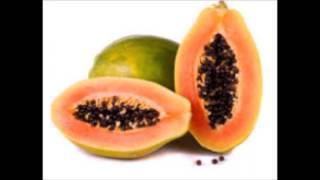 Use of papaya for Acne.
