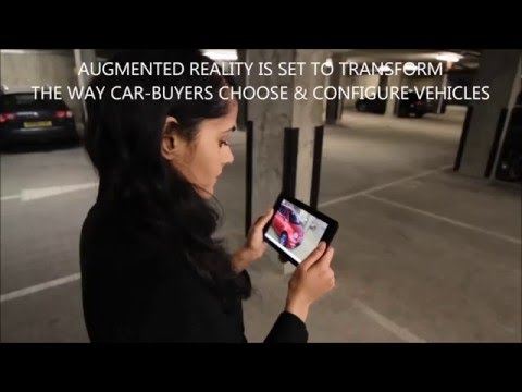 Augmented Reality Car Shopping by Fiat, Google Project Tango and Accenture Digital
