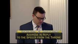 Brendan Maguire, MLA, Halifax Atlantic: Second, Speech from the Throne