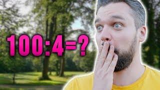 100 zł : 4 =?