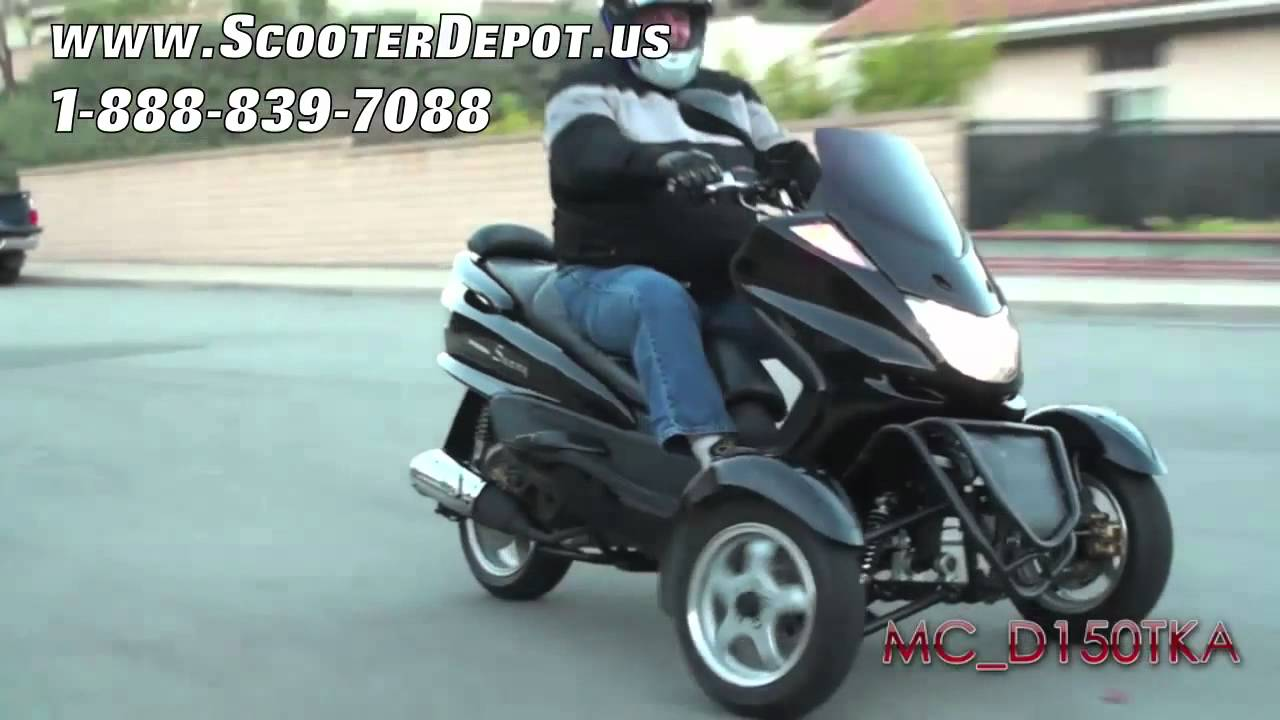 MC_D150TKA, Sunny 150cc 3 Wheels Trike Scooter at ScooterDepot us for $  1,999
