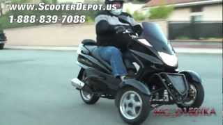 MC_D150TKA, Sunny 150cc 3 Wheels Trike Scooter at ScooterDepot.us for $ 1,999