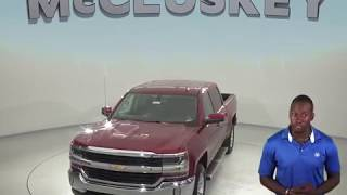 182615 New 2018 Chevrolet Silverado 1500 LT 4WD Red Test Drive, Review, For Sale -