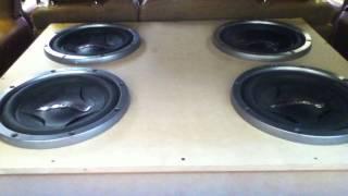 Bass sound system orgasm