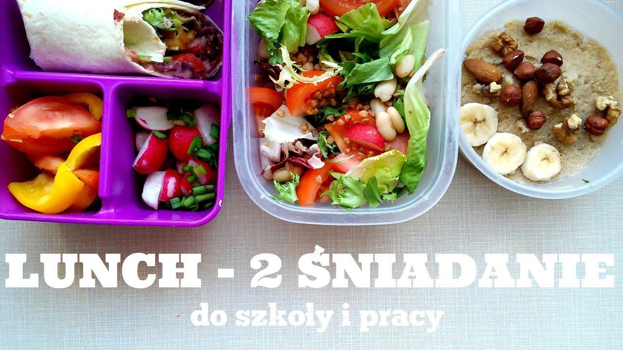 Lunch Box Zdrowe 2 Sniadania Do Szkoly I Pracy Healthy Omnomnom Vegan
