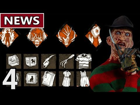 Freddy Krueger Perks/Add-ons and More - Ep.4 DBD NEWS