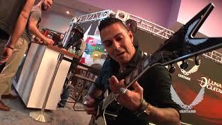 NAMM 2018 Dean Guitars- HELLYEAH signing/Jose Mangin Pantera Tribute