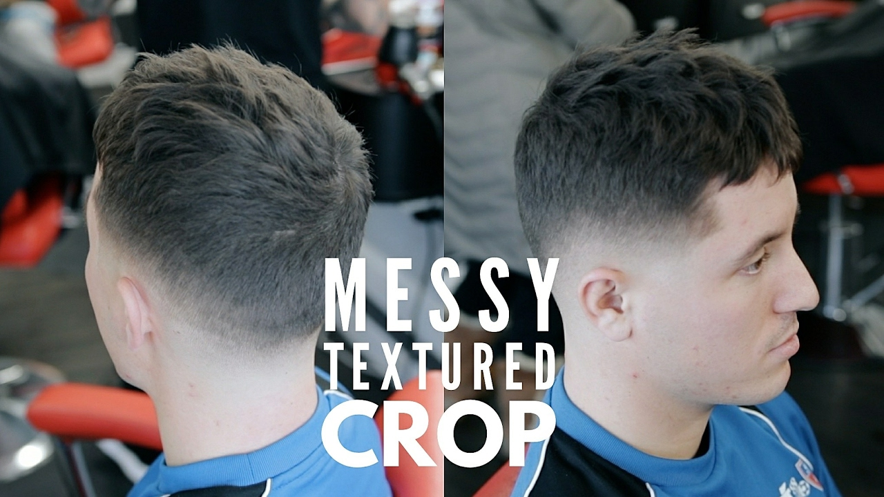 27d3b9873df61 Men s Hairstyle 2017 - Short Textured Messy Crop - Step by Step ...