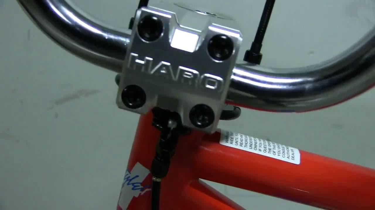 "ODYSSEY GYRO 3 1-1//8/"" BMX BICYCLE GYRO-DETANGLER COMPLETE KIT W// BLACK CABLES"