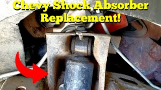 Chevy Blazer, Chevy S10 & GMC Jimmy Shock Absorber Replacement!