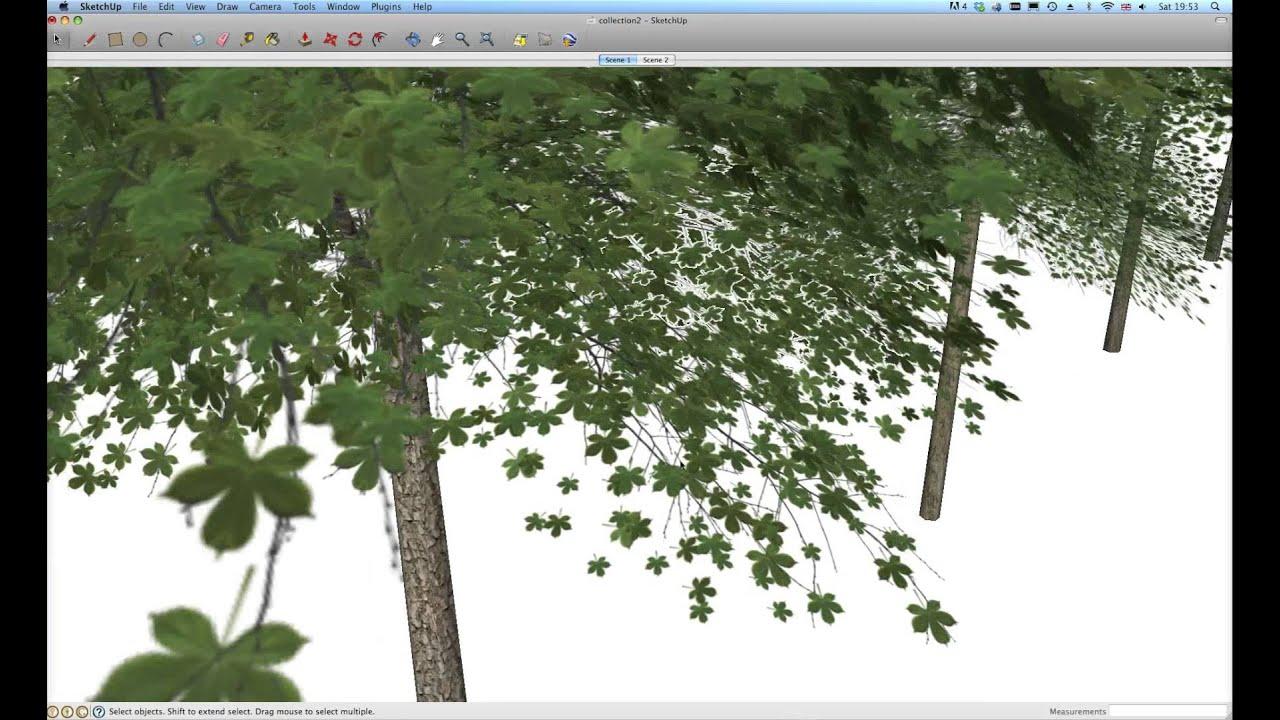 NEW! SketchUp 3D Trees V1 - Twilight Render User Forum