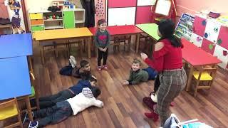 Küçük Şişe Sallanıyordu Okul Öncesi Hareketli Oyun