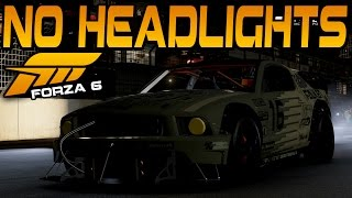 Forza 6 NO HEADLIGHTS AT NIGHT CHALLENGE