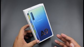Samsung Galaxy A9 Unboxing & First look | World