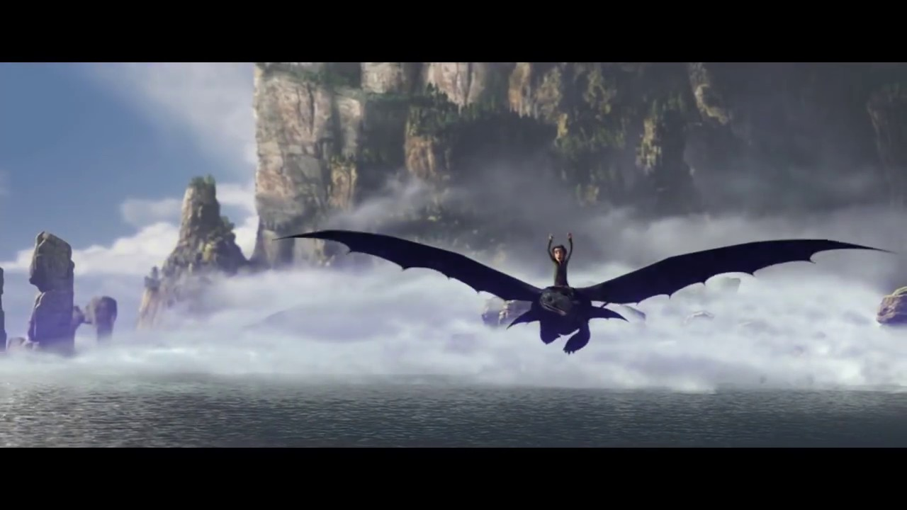 First Flight On Toothless How To Train Your Dragon Hd