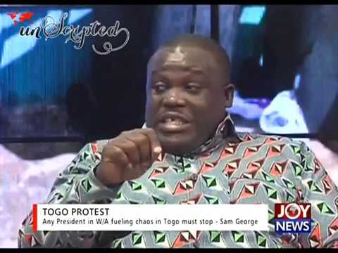 Any President in W/A fueling chaos in Togo must stop - Sam George (8-9-17)