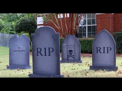 RYOBI NATION Presents: DIY Halloween Gravestones by The House of Wood